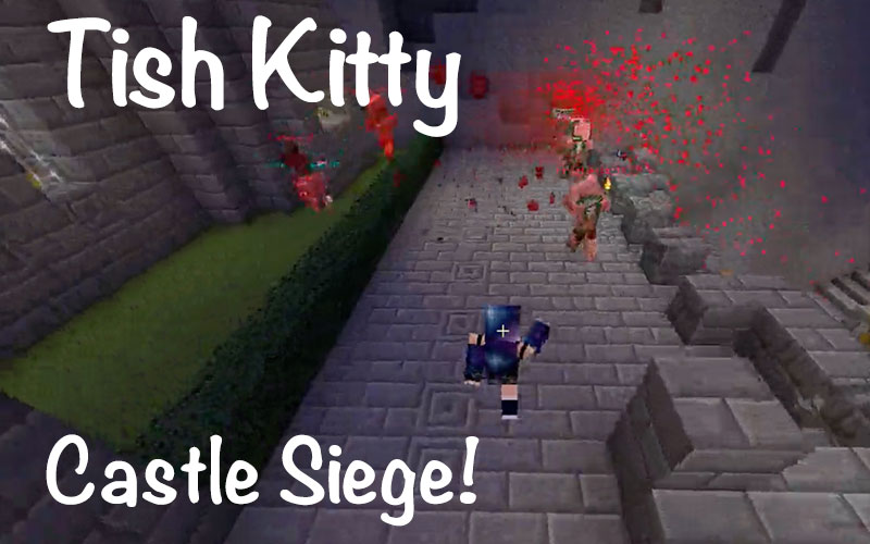 minecraft game castle siege